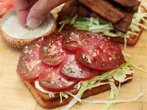 best sandwich recipes the best blt sandwich recipe bacon lettuce and tomato
