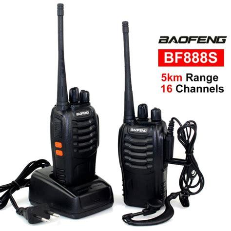 Baofeng Bf888s Uhf baofeng bf 888s 5km walkie talkie 16 channel radio uhf 5w