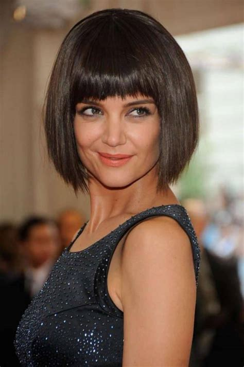 how to cut a katie holmes bob 10 inverted bob hairstyle designs ideas design trends