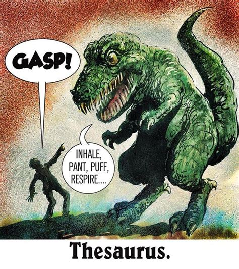 Meme Thesaurus - mystery fanfare cartoon of the day thesaurus