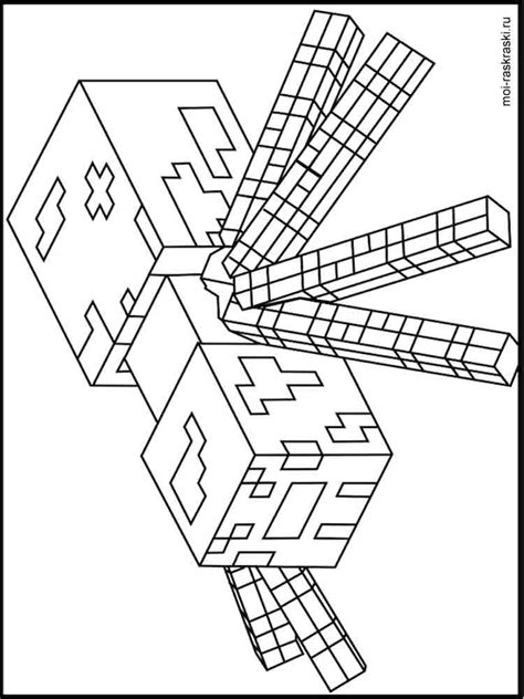minecraft cartoon coloring pages free printable minecraft coloring pages