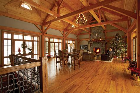 Timber Frame Home Interiors | timber frame timber frame home interiors new energy works