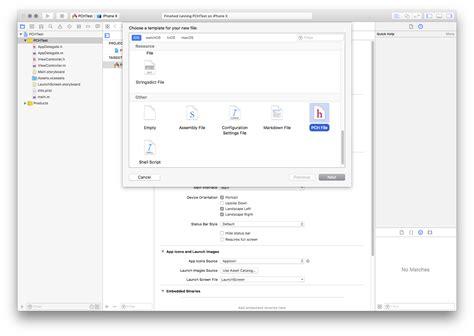 Prefix Pch - pch dateien in xcode 9 8 pre compiled header ingenieurb 252 ro edelmann