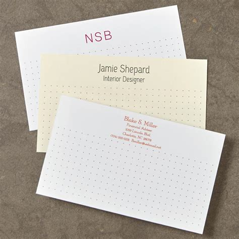 Custom Note 16 100 personalized 3 x 5 cards horizontal levenger