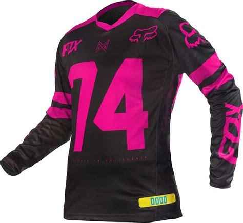 pink motocross gear 2016 fox racing switch womens jersey motocross dirtbike