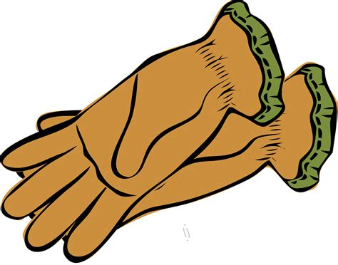 gloves clipart garden in a glove clipart collection