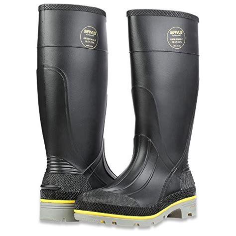 chemical boots servus xtp 15 quot pvc chemical resistant steel toe s work