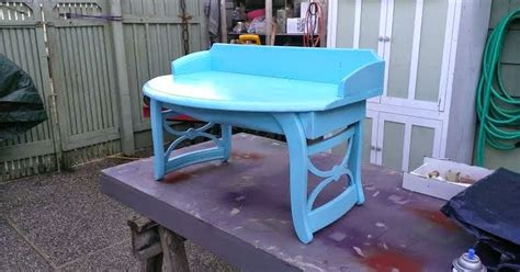 bench made from 2 chairs gregs repurpose upcycle aqua blue bench made from 2 chairs
