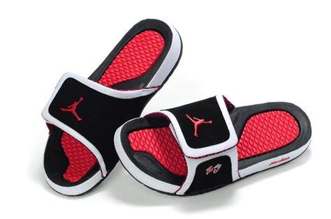 jordans slippers 10 hydro sandals summer white black varsity
