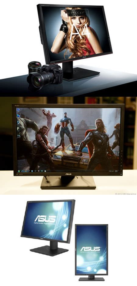Asus 24 Inch Led Lit Ips Professional Graphics asus pa248q 24 quot led ips professional graphics monitor gets 27 reduction to 259 99 shipped
