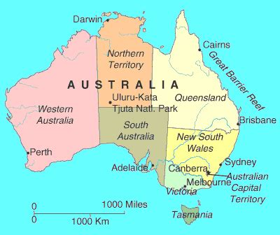 scale map of australia bright nepenthe water australia by sally e