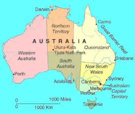 flag and map of australia geography geebee education