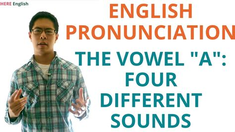 esl english pronunciation english esl pronunciation vowels pronouncing the vowel