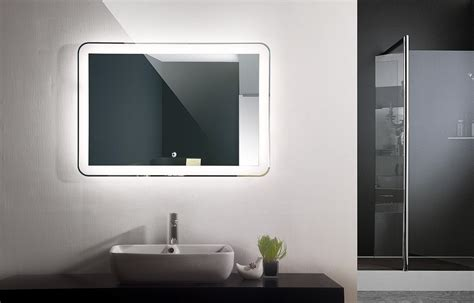 mirage ii backlit led bathroom vanity mirror