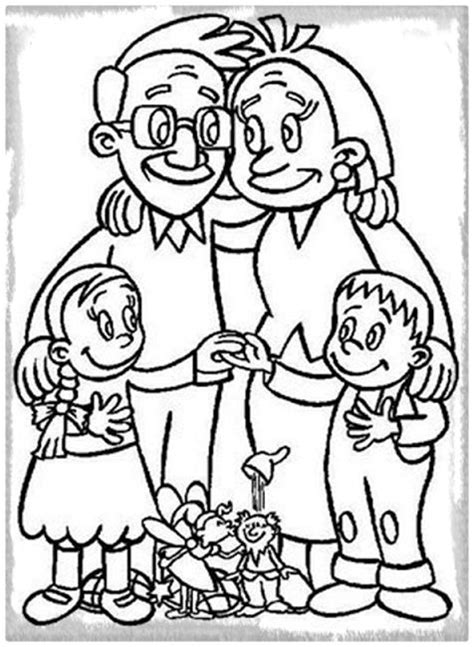imagenes de la familia para colorear e imprimir dibujos sobre la familia para colorear imagenes de familia
