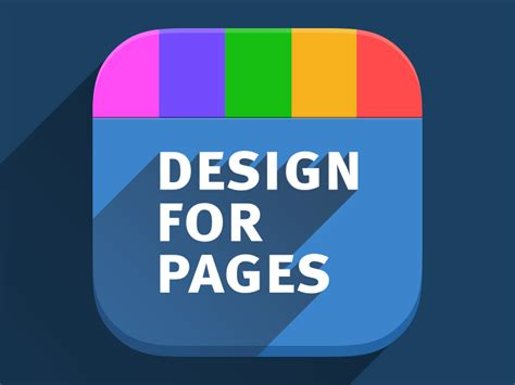 design an app icon ios7 app icon for design for pages var 1 by roman rudnik