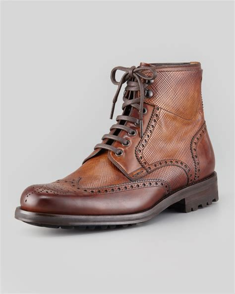 Leather Wingtip Boots mens brown wingtip boots 28 images to boot york