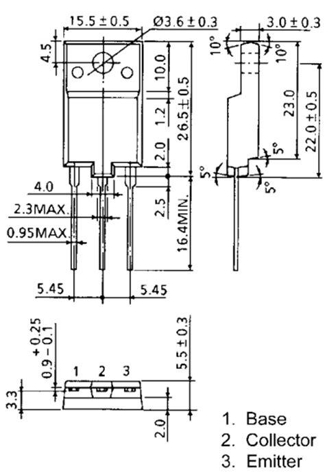 datasheet transistor horisontal d2498 datasheet d2498 pdf pinouts circuit toshiba