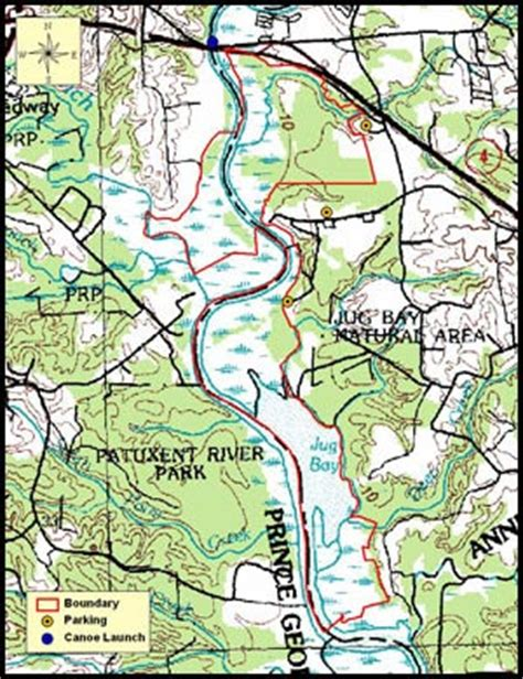 maryland dnr map jug bay