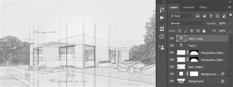 text editor design architecture how to create an architecture sketch effect in adobe photoshop