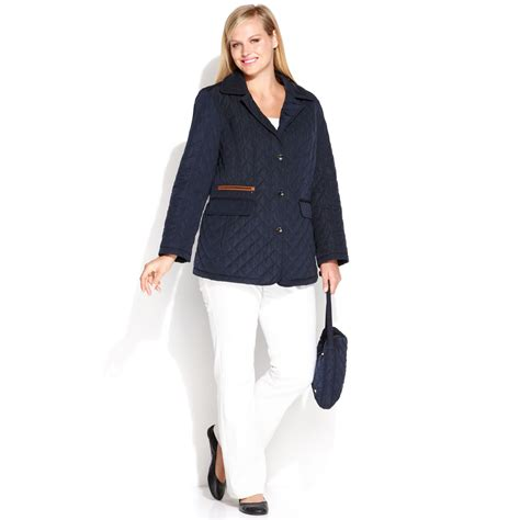 Topshop In New York Plus Size Store To Soon Follow by Jones New York Plus Size Quilted Fauxleathertrim Packable