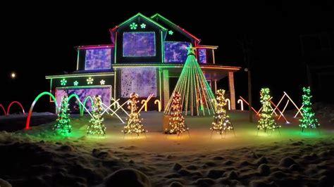 trista lights  christmas light show featured  abc