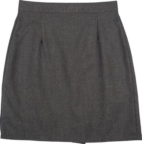 a line plain pencil skirt school work