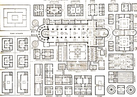 monastery floor plan monastery of st gall swit 820 plans to
