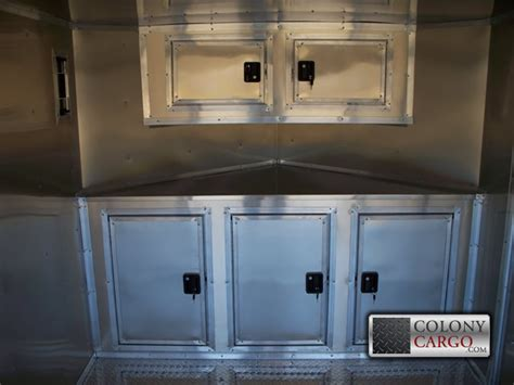 cabinet options archives american trailer pros cargo