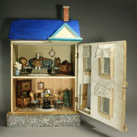 french dolls house antique dolls houses rooms fully furnished blue roof dollhouse for the french