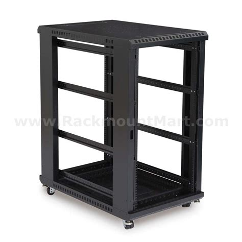 Open Rack cr1203 a 22u open frame server rack
