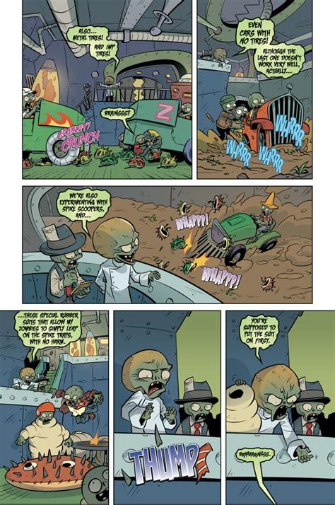 plants vs zombies volume 7 battle extravagonzo plants vs zombies volume 5 petal to the metal hc at tfaw