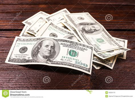 Money On A Table by Money On The Table Stock Photo Image 50225173