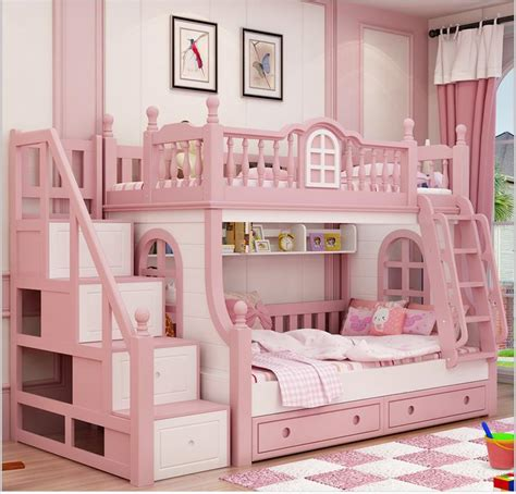 princess bunk beds cheap bunk bed buy quality bed girl directly from china