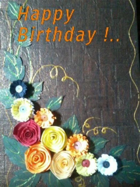 Birthday Card To Wish Your Dear One. Free Happy Birthday