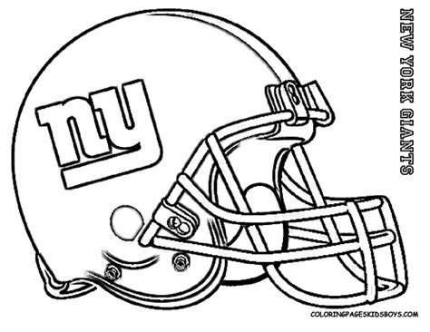 New York Giants Football Coloring Pages Coloring Pucs Football Logo Coloring Pages