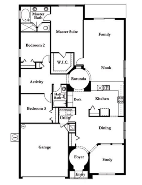 mercedes homes floor plans las calinas las calinas