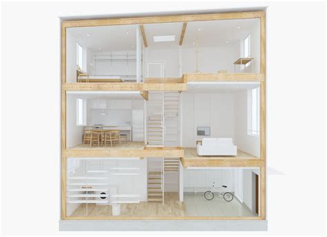 design your own home design your own home with muji s prefab vertical house