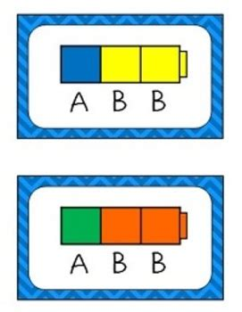 abb pattern video pattern cards ab abc abbc aab abb aabb abcd by