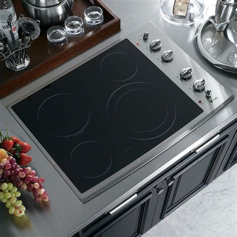 Built In Cooktop Ge Profile Pp912smss 30 Quot Built In Electric Cooktop