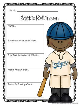 Jackie Robinson Graphic Biography jackie robinson biography report organizers black