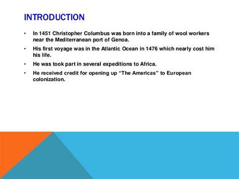 christopher columbus biography short summary amlit2131 columbus summary