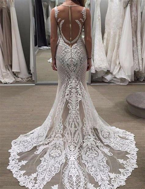 Wedding Dress With Lace by Fabulous Sleeveless Sheath Lace Wedding Dress With