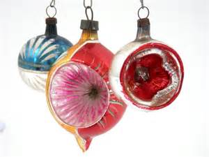 antique christmas ornaments mercury glass