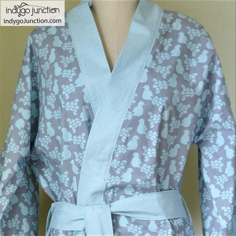 kimono pattern free download klassic kimono robe sewing pattern from indygo junction