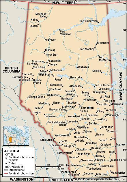 canadian map alberta road map of alberta canada images