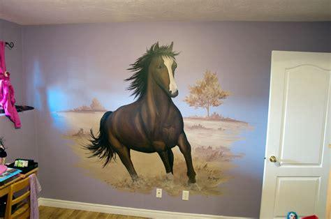 horse mural marcdoiron ca