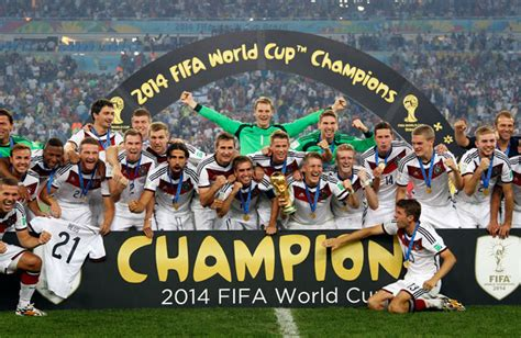 2014 fifa world cup soccer players with the craziest redemption germany validates self as football power