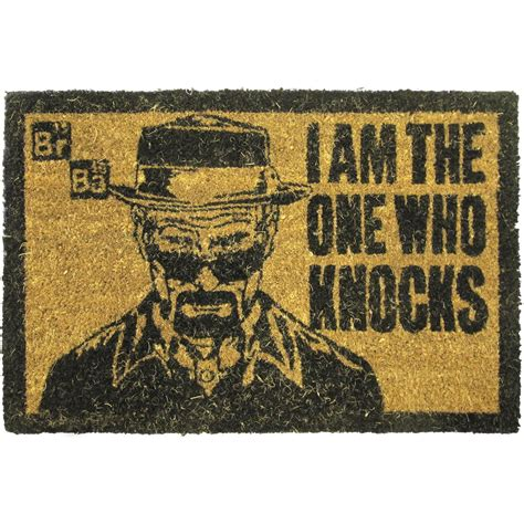 zerbino significato breaking bad door mat quot i am the one who knocks quot buy now at emp