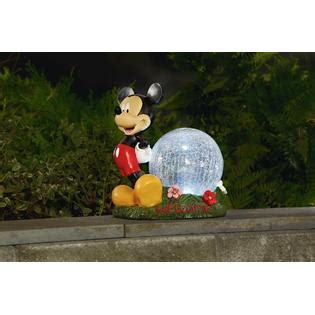 disney disney gazing with timer mickey outdoor living outdoor decor lawn ornaments